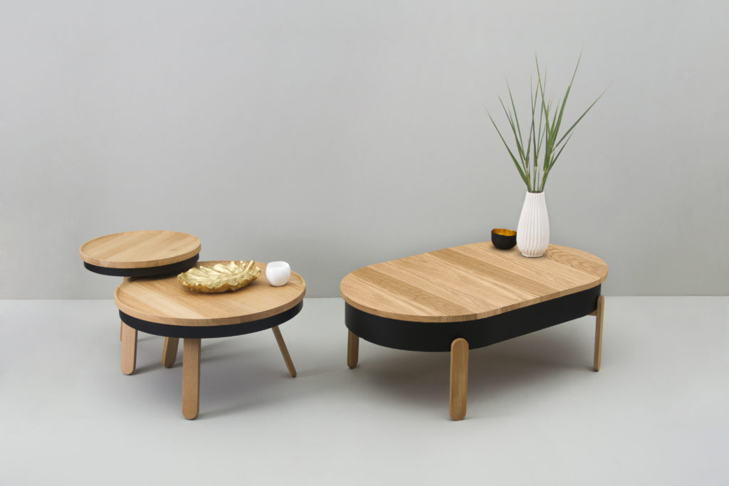 Round Indoor Coffee Tables by Qrator